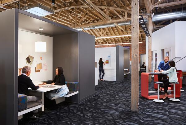 Workplace design employee recruitment ROI -  - New Day Office