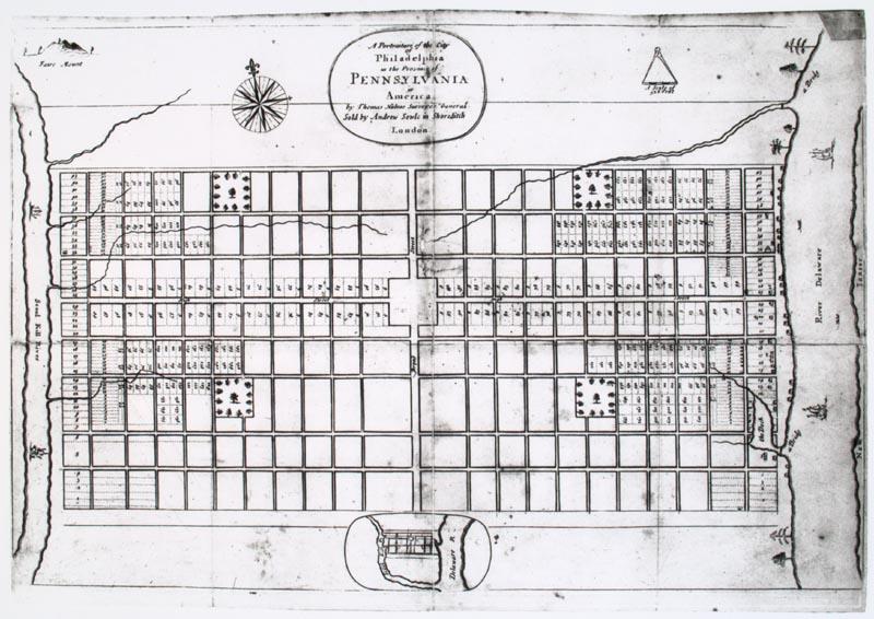City grid office layout legibility