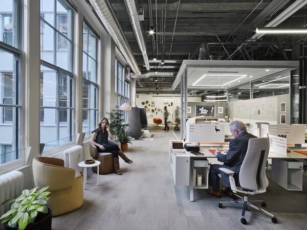Workplace design as recruitment tool  - New Day Office