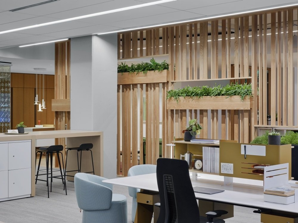New Day Office workplace design harmony unity