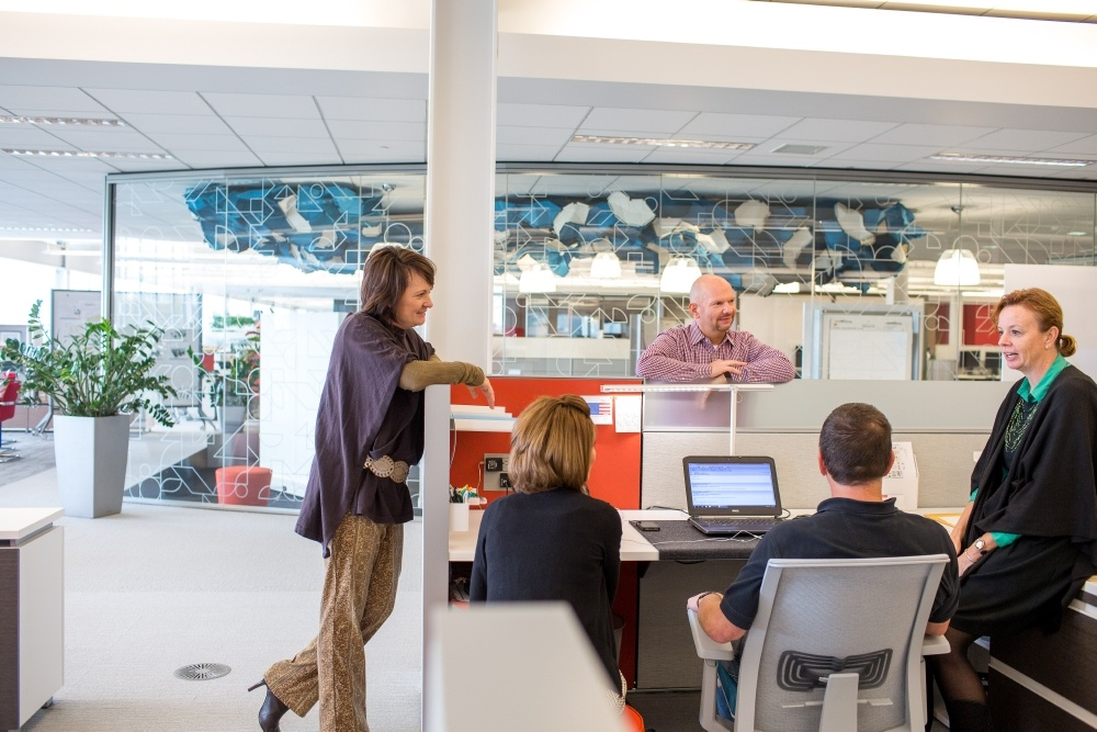 New Day Office Haworth design for employees