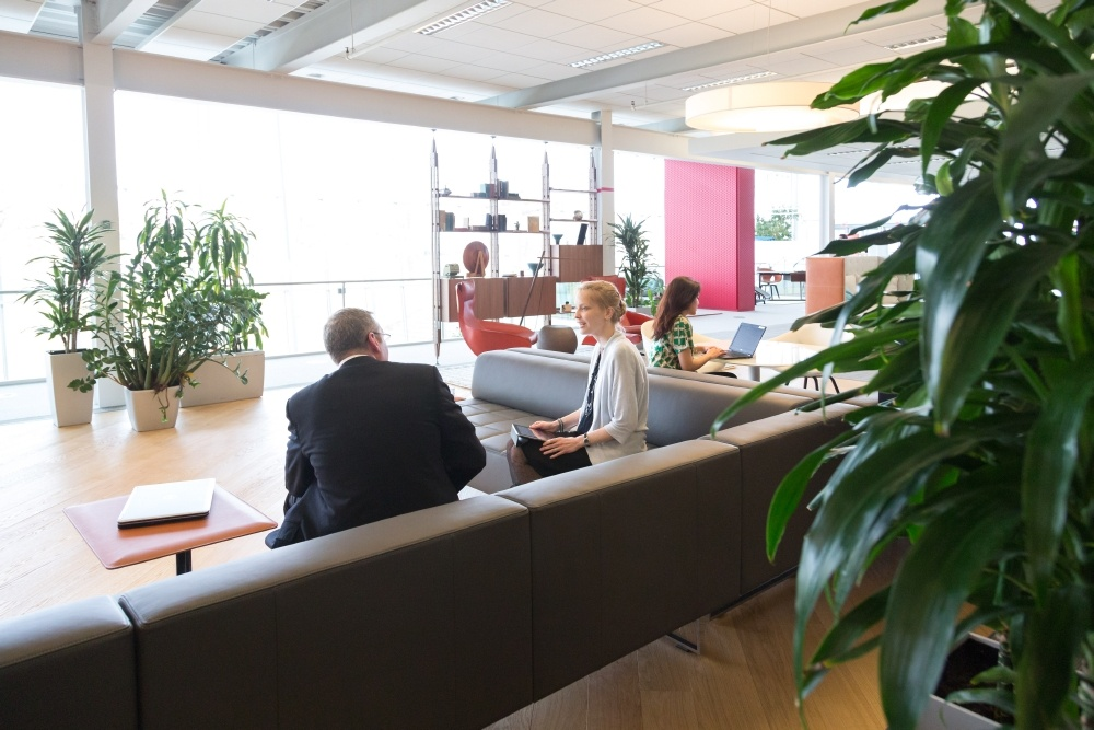 New Day Office design workplace with people in mind