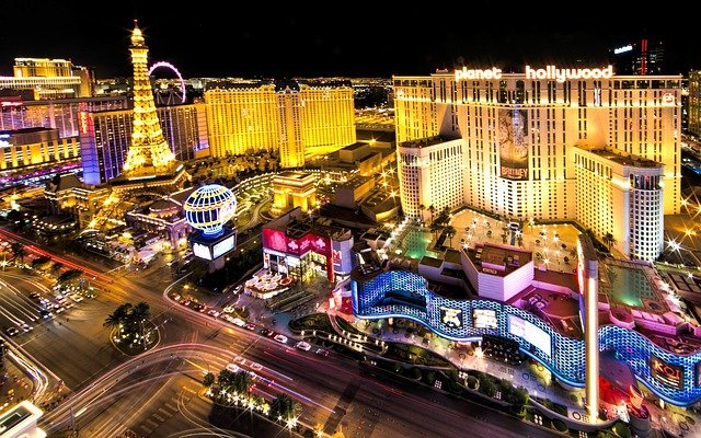 Las Vegas strip sense of place